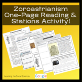History of Zoroastrianism Quick Read - 1 Page Reading with