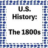 The 1800s Test - War of 1812/Westward Expansion