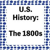 The 1800s Test - War of 1812/Westward Expansion