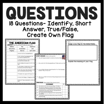 History of the American Flag Reading Comprehension; American Revolution