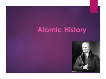 History of the Atom Powerpoint
