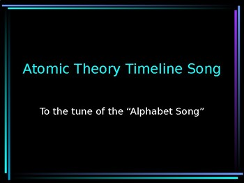 History of the Atom SONG