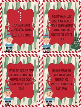 History of the Candy Cane Printable Book