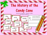History of the Candy Cane Sentence Scramble
