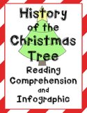 History of the Christmas Tree ~ Reading Comprehension and Infographic