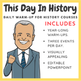 Today in History: Daily Warm-Up for History Courses