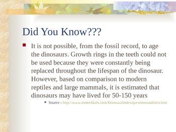 History of the Earth - Mesozoic Era