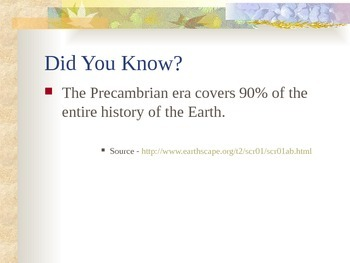 History of the Earth - Precambrian Era