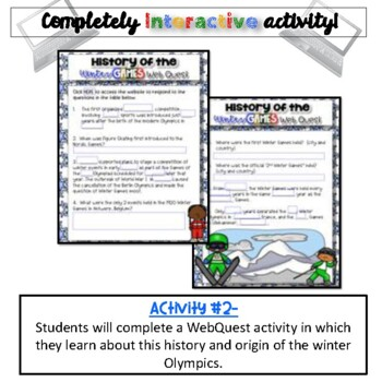 History of the Games:  Winter Edition {Digital}