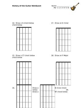 History of the Guitar WebQuest