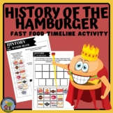 History of the Hamburger Timeline Activity