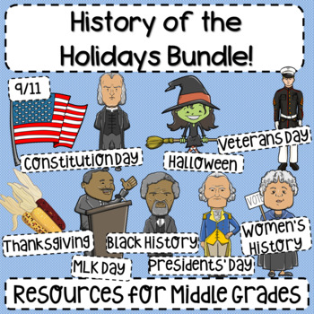 History of the Holidays Bundle!