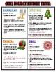 History of the Holidays {Trivia Activity}