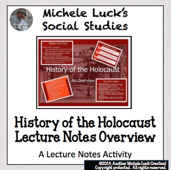 History of the Holocaust Ppt Overview Lecture Notes