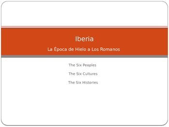 History of the Iberian Peninsula Ice Age - Romans Invasion