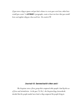 History of the Middle East Journal Responses