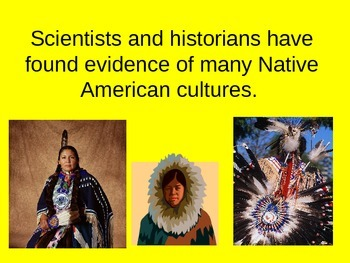 History of the Native Americans PowerPoint Presentation