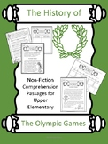 History of the Olympics- Non-fiction Comp. Passages and Ac