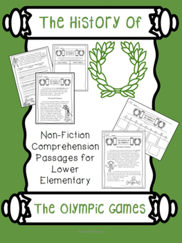 History of the Olympics- Non-fiction Comprehension Passage