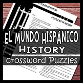 The Hispanic World History Culture Crossword Puzzles