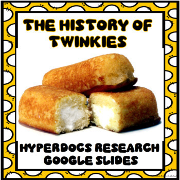 History of Twinkies Digital Research Project in Google Slides™