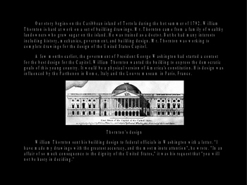 History of the U. S. Capitol PowerPoint