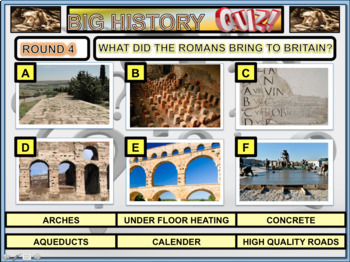 History of the UK Powerpoint Lesson Quiz