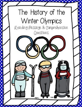 History of the Winter Olympics Reading Passage and Compreh