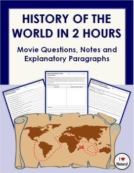 History of the World in 2 Hours Movie Questions, Notes & E