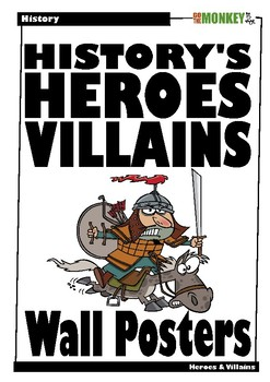 History's Heroes and Villains Posters
