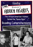 History's Hidden Figures - Texts Included - Reading Comprehension 3 Pack
