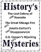History's Mysteries - America's Biggest Unsolved Mysteries - Summer Camp