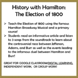 History with Hamilton: The Election of 1800