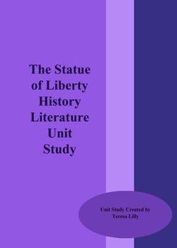 The Statue of Liberty History Literature Unit Study