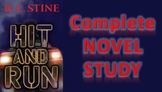 Hit and Run by R.L. Stine: Complete Novel Study with Activities