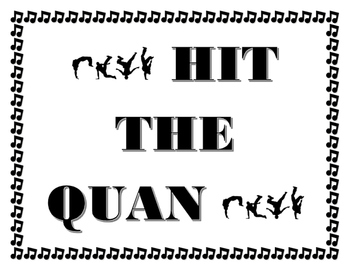 Hit the QUAN testing stratagy poster