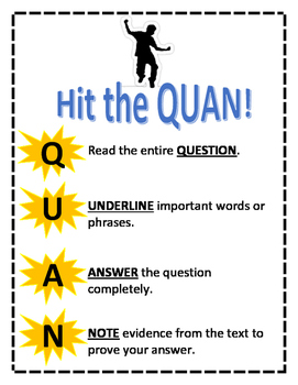 Hit the Quan! Test Taking Strategies