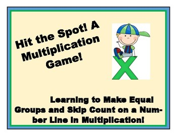 Hit the Spot!  A Multiplication Strategy Game