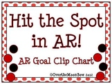 Hit the Spot in AR! Red & Black Polka Dot AR Goal Chart