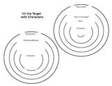 Hit the Target Characters Worksheet