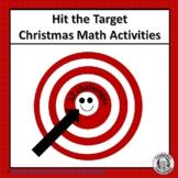 Hit the Target Christmas Math Activities