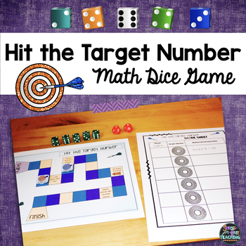 Math Computation Dice Game