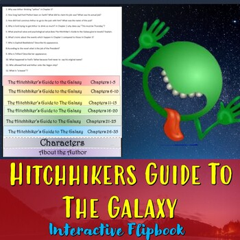 Hitchhiker's Guide to the Galaxy Interactive Flipbook