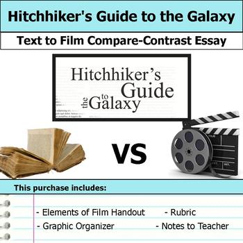 Hitchhiker's Guide to the Galaxy - Text to Film Essay Bundle