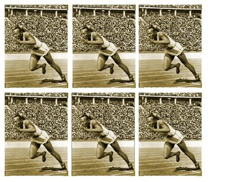 Hitler on race Jesse Owens  Olympic Games 1936 Source Analysis Activity