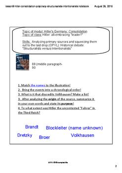 Hitler-Consolidation-Polycracy