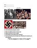 Hitler Essay Prompt