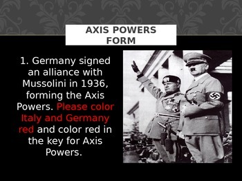 Hitler Moves West - PPT