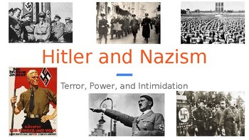 Hitler/Nazi Germany/Nazism PowerPoint Presentation