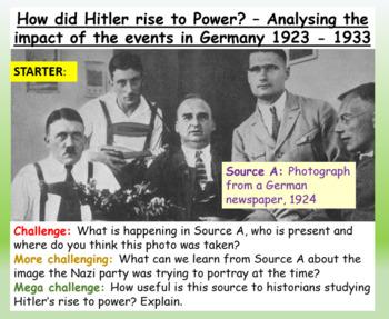 Hitler + Nazi Rise to Power